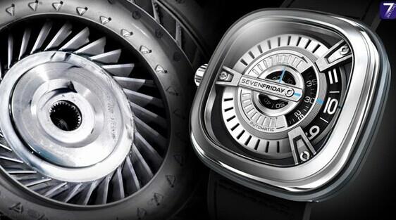 Sevenfriday 全新M系列机械腕表问世 热点动态 第1张