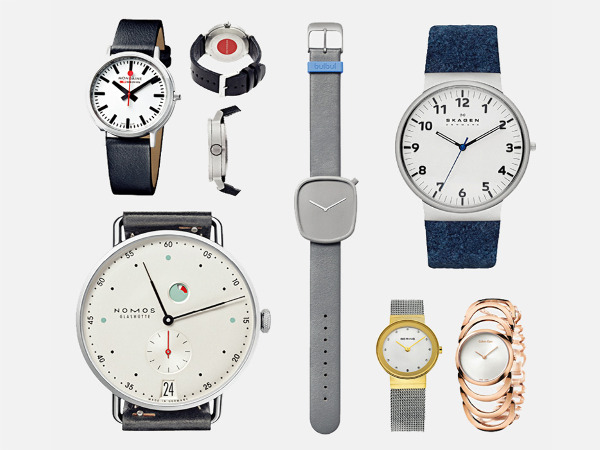经久不衰的6 个极简主义手表品牌:简洁不简单