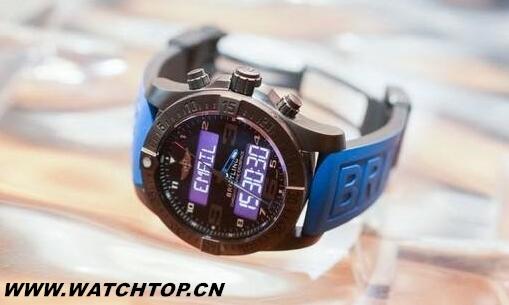 百年灵发布首款智能手表:续航2个月、售价5.8万元