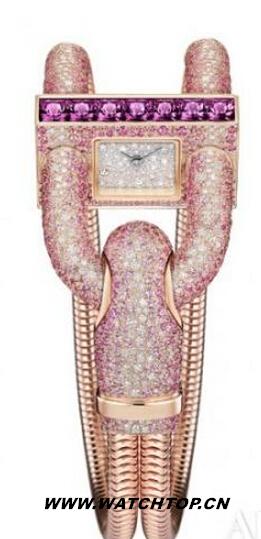 美轮美奂珠宝腕表:让女人都惊艳的手表 热点动态 第4张