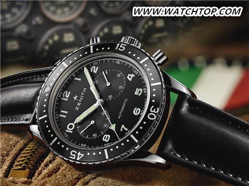 经典再现 致敬传奇 真力时推出传承系列TIPO CP-2计时码腕表