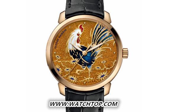 雅克德罗推出雄鸡主题腕表 致庆中国农历新年