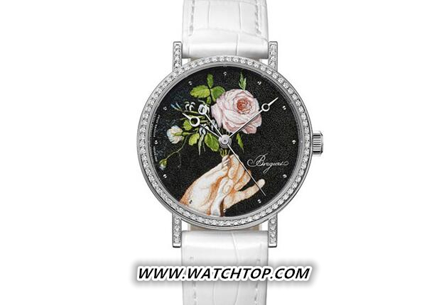 Breguet推出全新鸡年微缩彩绘珐琅面盘腕表