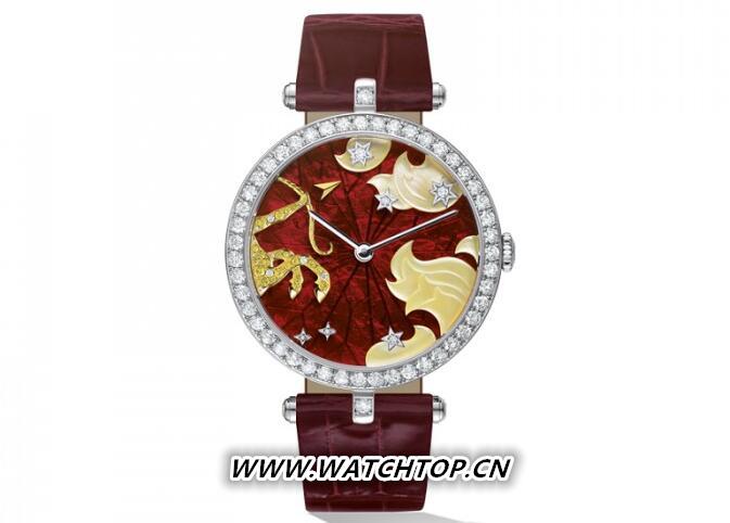 梵克雅宝非凡表盘系列女士十二星座腕表