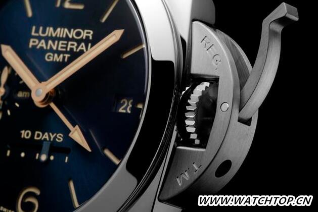 沛纳海推出蓝色表盘新款腕表 热点动态 第2张