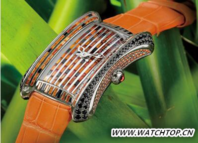 宝齐莱名表品牌推全新雅丽嘉野猫限量珠宝腕表