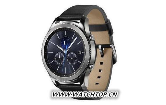 三星发布新智能手表Gear S3 设计更接近腕表
