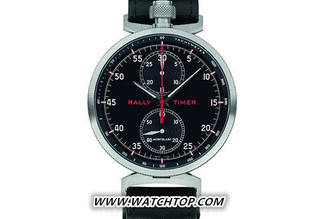 万宝龙推出TimeWalker时光行者系列拉力赛计时腕表