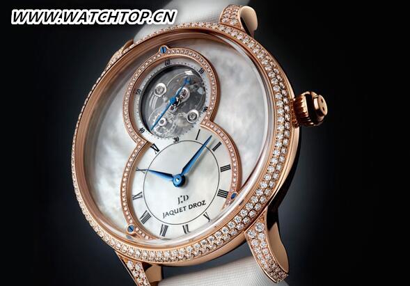 雅克德罗推出全新珍珠母贝陀飞轮大秒针腕表