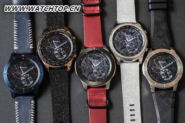 复古/工匠情怀 三星GearS3概念智能手表亮相