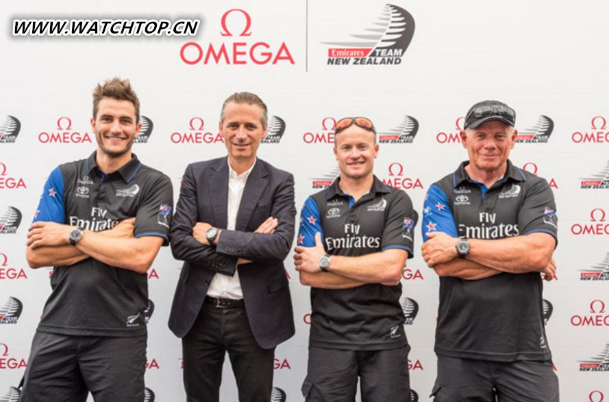 Omega推出全新超霸系列X-33新西兰酋长队限量版腕表