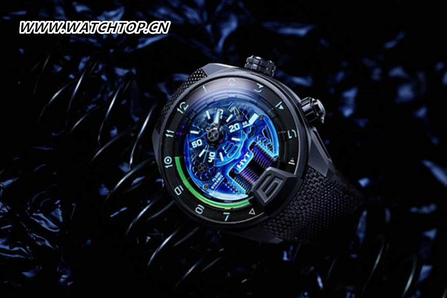 从白光LED到紫光LED HYT名表品牌推出全新H4 Neo腕表