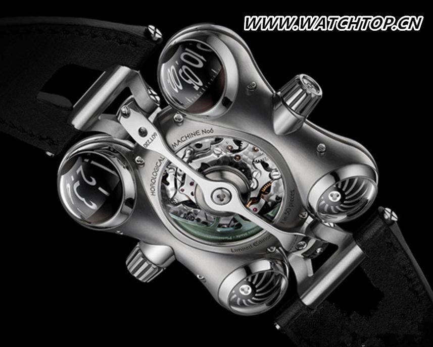 外星访客 MB&F名表品牌推出全新HM6系列腕表