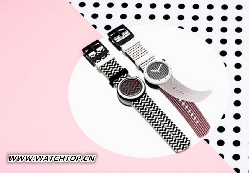 Swatch推出2017全新春夏【马赛克奇梦】系列腕表