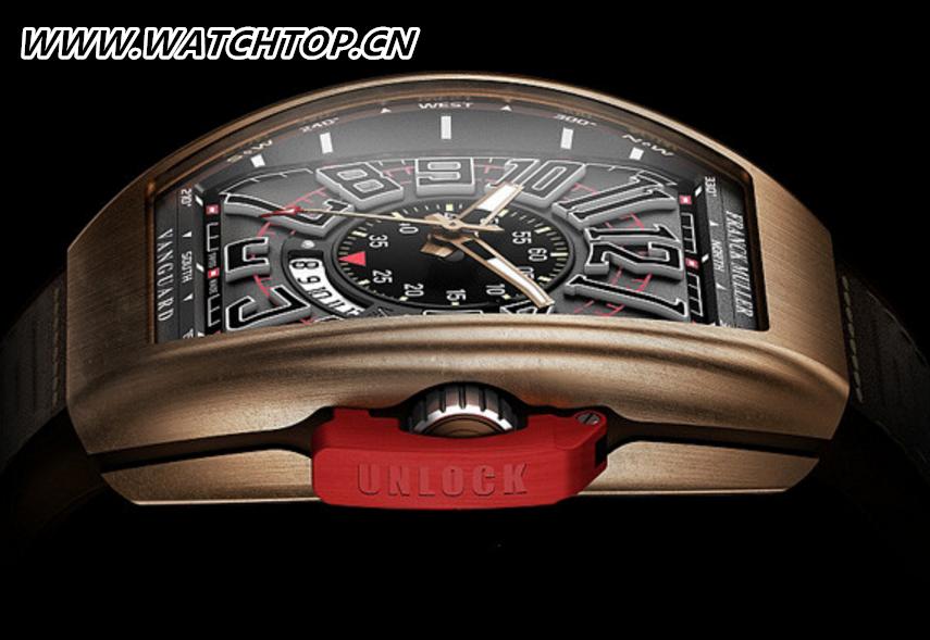 Franck Muller隆重呈献Vanguard系列全新腕表