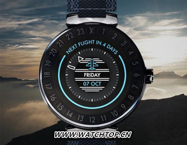 路易威登推出全新智能腕表 与苹果手表同台比拼