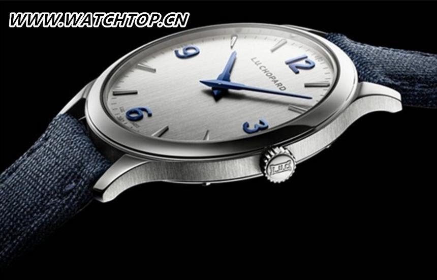 """""""表中绅士"""" 萧邦推出全新超薄设计精钢腕表"""