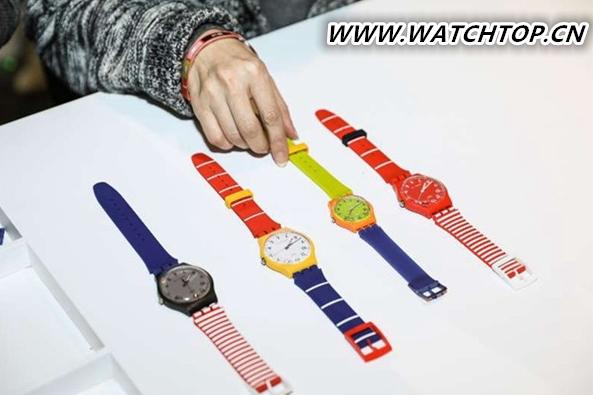 斯沃琪于上海新天地发布SWATCH X YOU定制系列腕表 热点动态 第2张