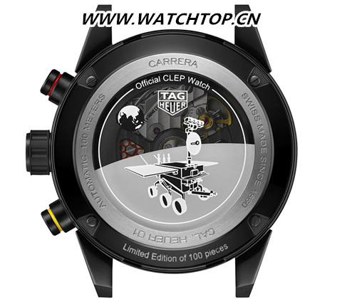 TAG Heuer泰格豪雅荣耀发布中国探月特别款腕表 新表预览 第9张