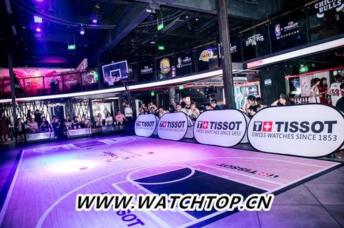 天梭速驰系列NBA球队款腕表点亮京城夏夜 行业资讯 第2张