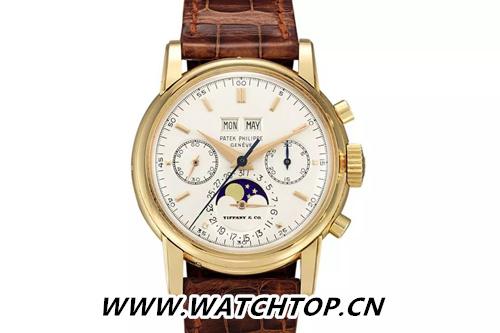 亚洲拍卖史上最贵腕表诞生:蒂芙尼发行的Patek Philippe Ref. 2499破纪录 行业资讯 第1张