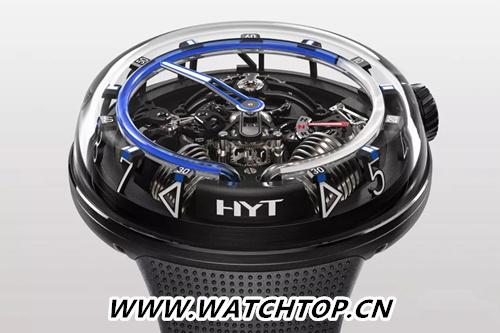 三维液体看时间:HYT H20腕表 行业资讯 第2张