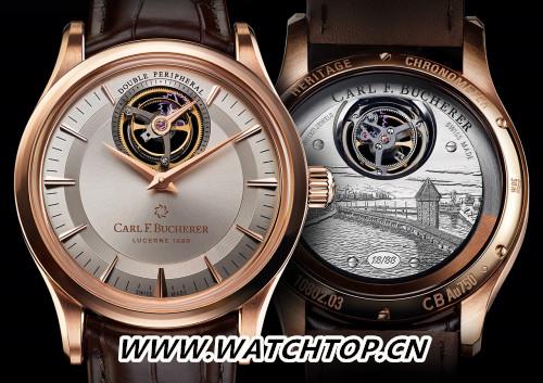 宝齐莱隆重推出传承系列双外缘陀飞轮腕表限量款,为品牌庆生