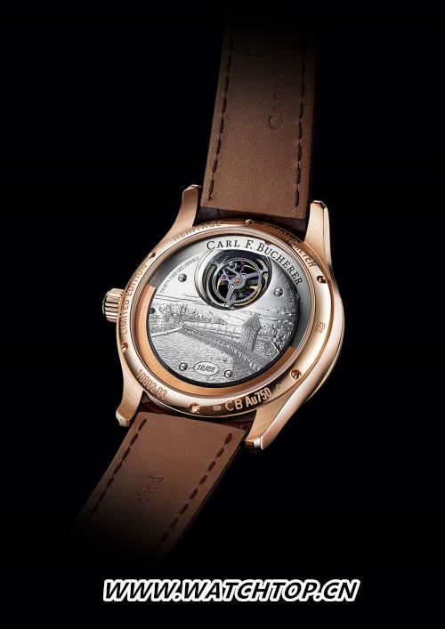 宝齐莱隆重推出传承系列双外缘陀飞轮腕表限量款,为品牌庆生 行业资讯 第3张