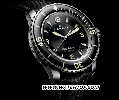 宝珀BLANCPAIN五十噚系列全新钛合金腕表闪耀问世 新表预览 第1张
